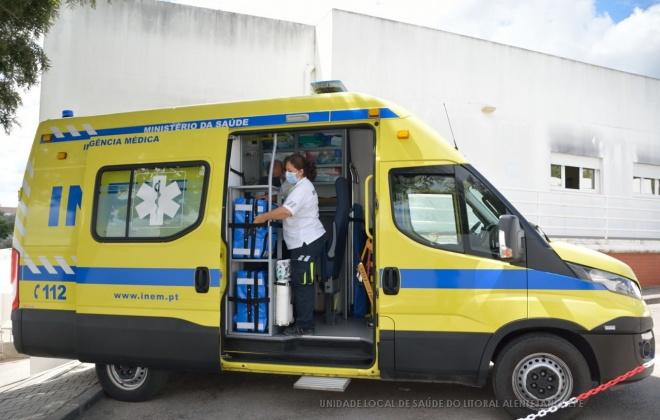 Unidade Local de Saúde do Litoral Alentejano conta com duas SIV e uma VMER