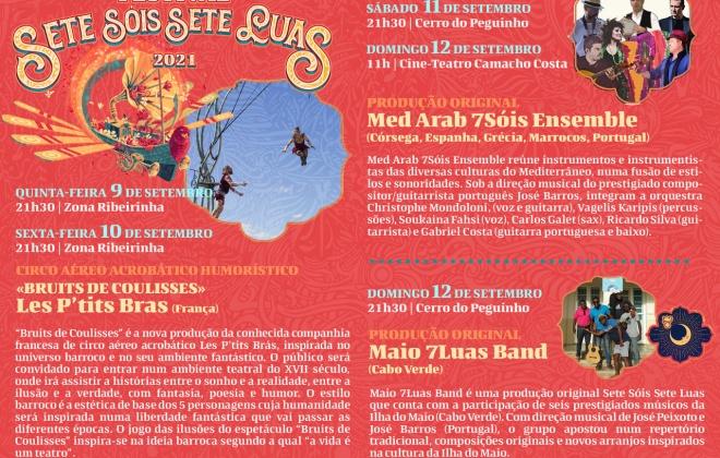 Odemira recebe Festival Sete Sóis, Sete Luas