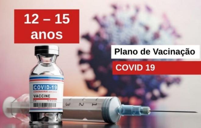 Jovens com idade entre os 12-15 anos são vacinados este fim de semana